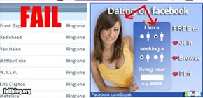 Facebook Dating Fail