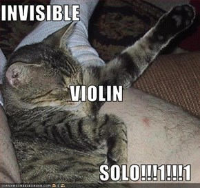 INVISIBLE  VIOLIN SOLO!!!1!!!1