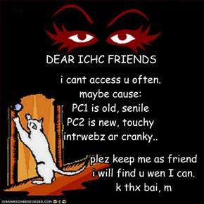11/06/09 ICHC friends: