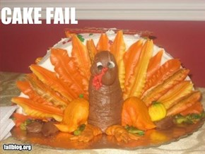 Turkey Cake Fail
