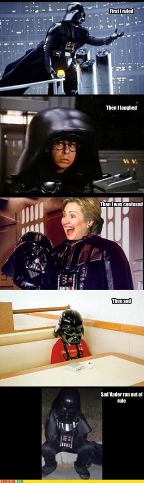 Sad Darth Vader