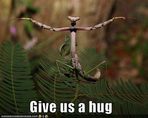 Give us a hug