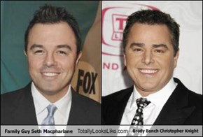 Family Guy Seth Macpharlane Totally Looks Like Brady Bunch Christopher Knight