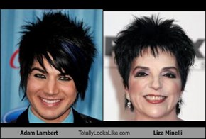 Adam Lambert Totally Looks Like Liza Minelli