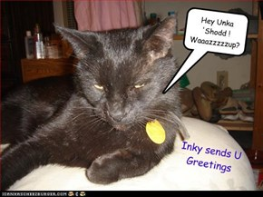 Hey Unka 'Shodd ! Waaazzzzzup?