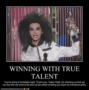WINNING WITH TRUE TALENT