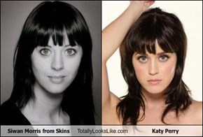Siwan Morris from Skins Totally Looks Like Katy Perry