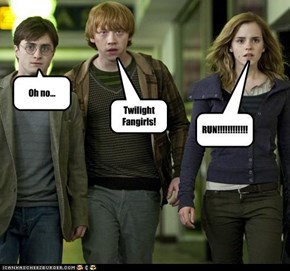 What Harry, Ron, and Hermione are Really Afraid of.
