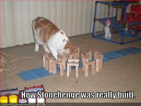 How Stonehenge was really built.