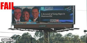 Billboard Technology Fail