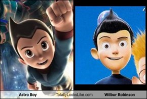 Astro Boy Totally Looks Like Wilbur Robinson