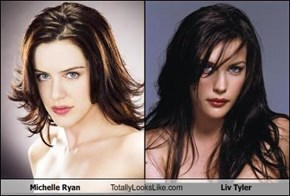 Michelle Ryan Totally Looks Like Liv Tyler