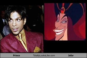 Prince Totally Looks Like Jafar