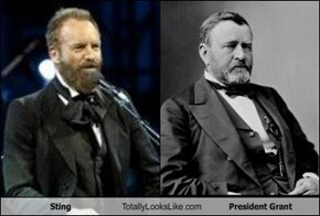 Sting Totally Looks Like President Grant