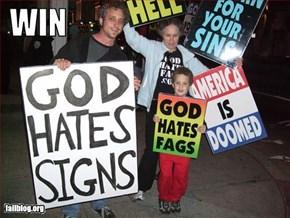 God hates...