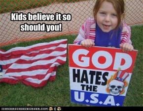 Kids believe it so should you!