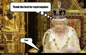 Thank the lord for royal nappies