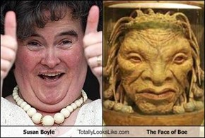 Susan Boyle Totally Looks Like The Face of Boe