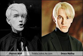 Patrick Wolf Totally Looks Like Draco Malfoy