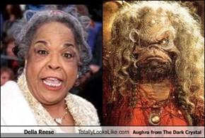 Della Reese Totally Looks Like Aughra from The Dark Crystal