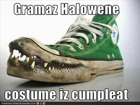 Gramaz Halowene  costume iz cumpleat