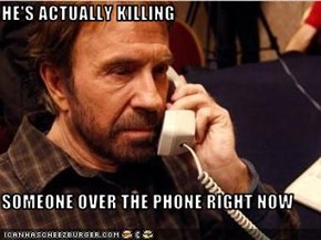 HE'S ACTUALLY KILLING  SOMEONE OVER THE PHONE RIGHT NOW