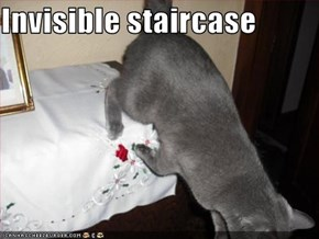 Invisible staircase