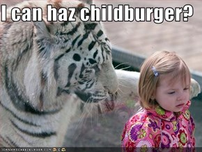 I can haz childburger?