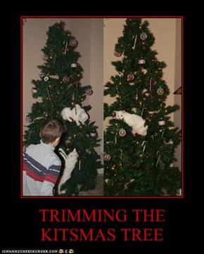 TRIMMING THE KITSMAS TREE