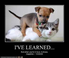 I'VE LEARNED...