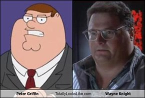 Peter Griffin Totally Looks Like Wayne Knight