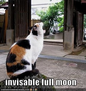 invisable full moon