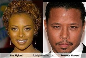 Eva Pigford Totally Looks Like Terrence Howard