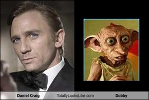 Daniel Craig Totally Looks Like Dobby