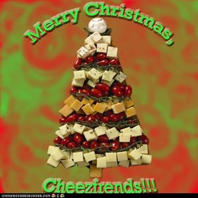 Merry Christmas, Cheezfrends!!!