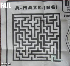 maze fail