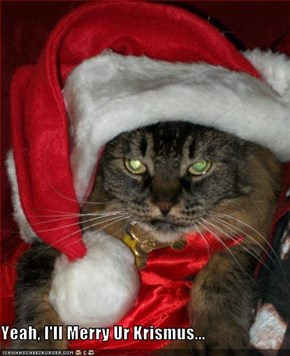 Yeah, I'll Merry Ur Krismus...