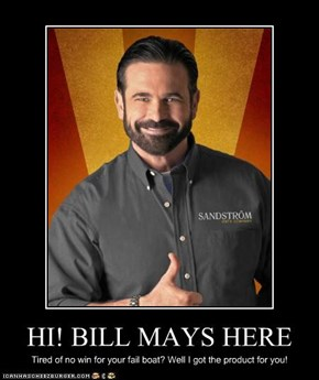 HI! BILL MAYS HERE