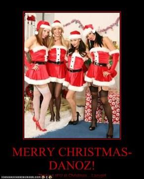 MERRY CHRISTMAS-DANOZ!