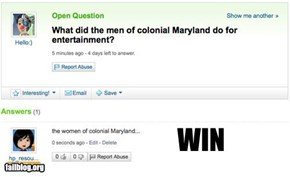 Colonial Win