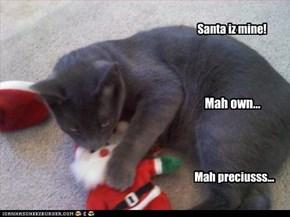 Santa iz mine!