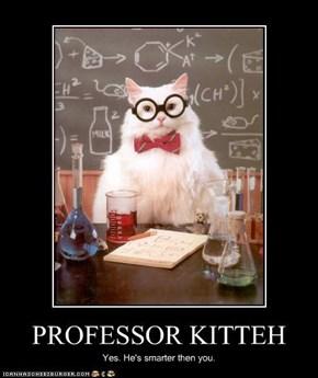 PROFESSOR KITTEH