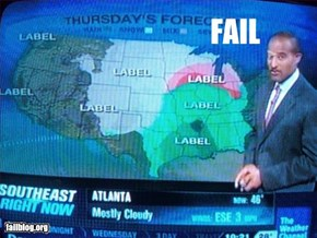 Weather Channel Graphics Fail