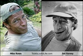 Mike Rowe Totally Looks Like Jim Varney