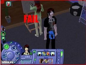 Sims fail