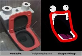 weird toilet Totally Looks Like Shoop da Whoop