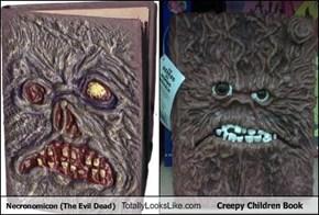 Necronomicon (The Evil Dead) Totally Looks Like Creepy Children Book