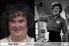 Susan Boyle Totally Looks Like Julia Child