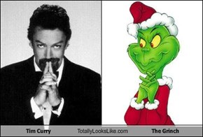 Tim Curry Totally Looks Like The Grinch