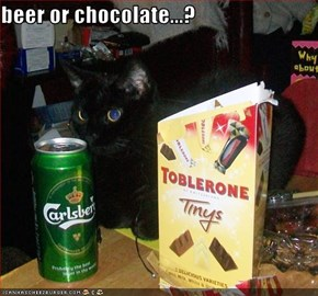 beer or chocolate...?